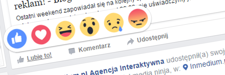"""""""Wow""""! Na Facebooku obok """"Lubię to!""""pojawiły się nowe Reakcje"""