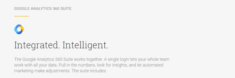 Google Analytics 360 Suite – Nowy Google Premium
