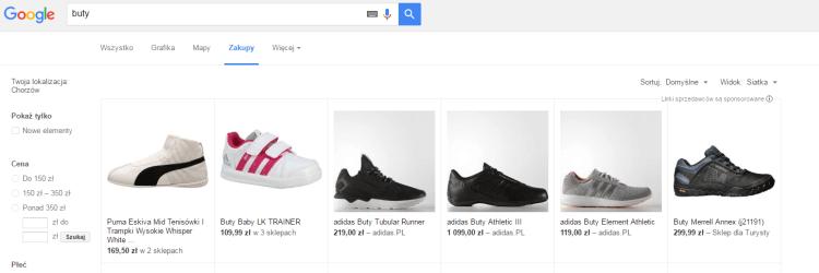 Zakupy w Wynikach wyszukiwania. Google idzie po ruch porównywarek cenowych
