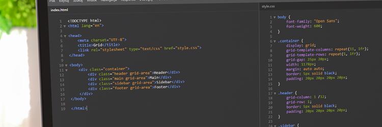CSS Grid Layout – wprowadzenie #1