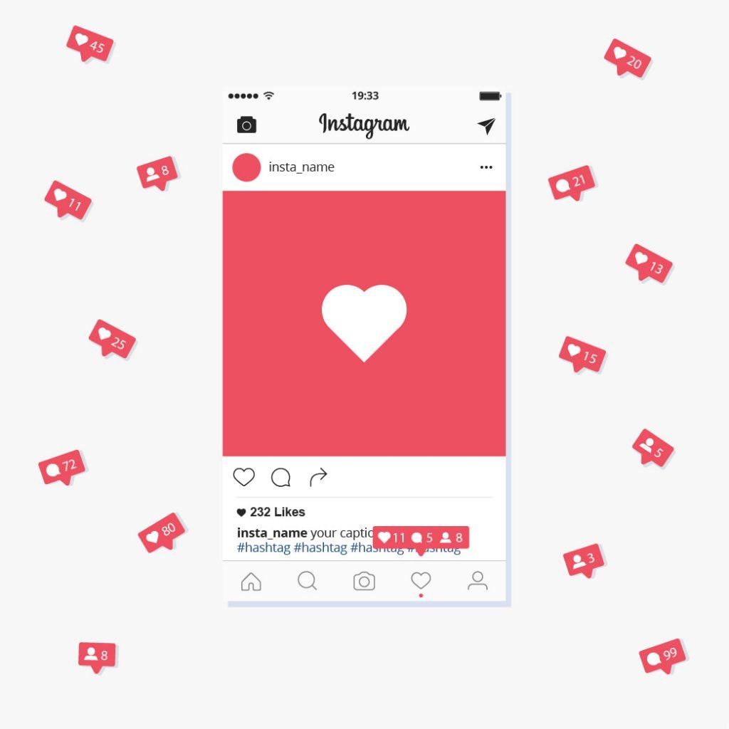 Działania w social mediach - Instagram