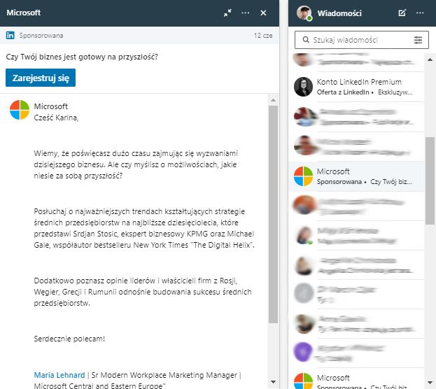 InMail na LinkedInie