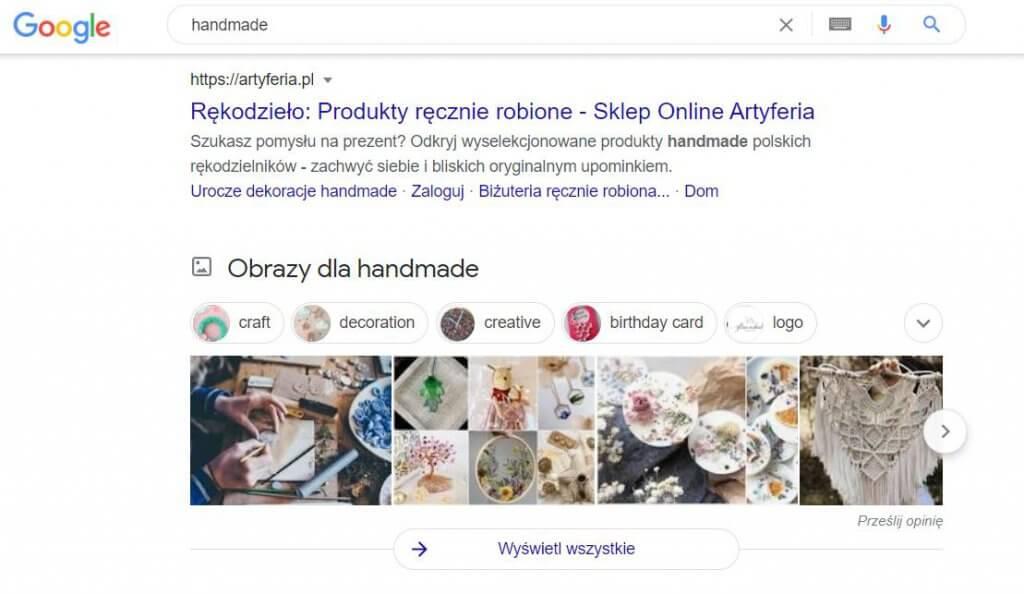 Pozycjonowanie grafiki w Google Images