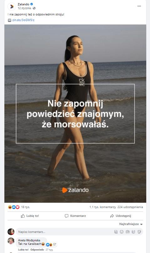 real time marketing w wykonaniu Zalando